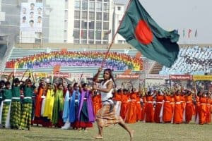 Independence day in Bangladesh