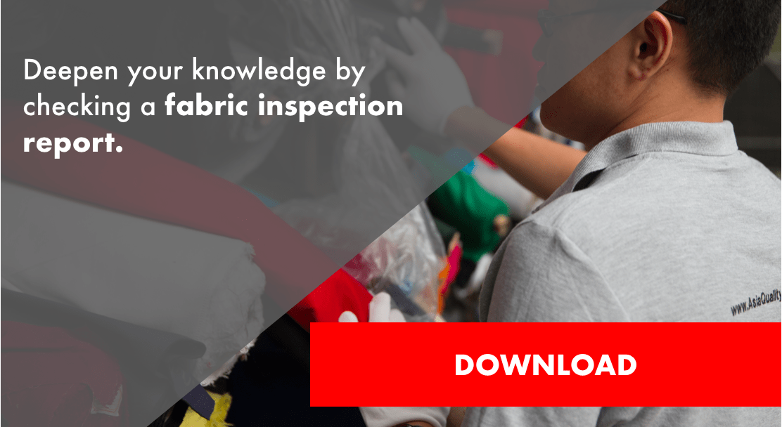 fabrics inspection report