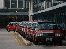 AQF_Hailing a taxi in Hong Kong