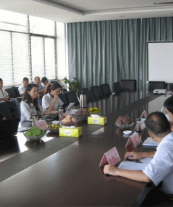 Blog_China Factory audit-the first meeting