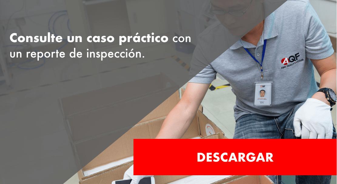 reporte de inspección