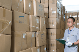 How can I ensure the total quantity of my goods is shipped?