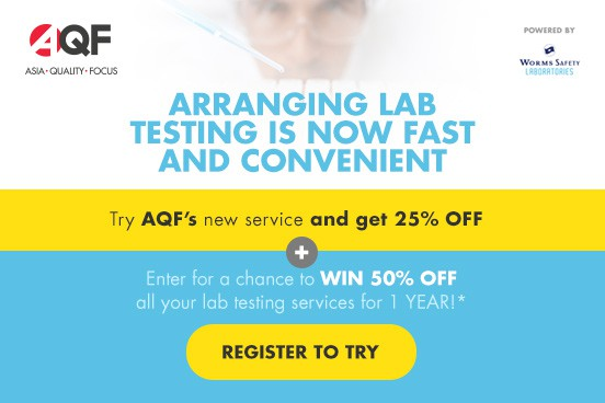 Discover AQF new lab testing service